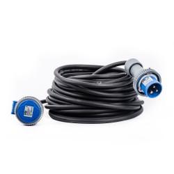 Prolunga 20M Cavo 3GX2,5 Spina+Presa 230V 16A 2P+E IP67 - VB-PR220/20/67 VB ELECTRIC