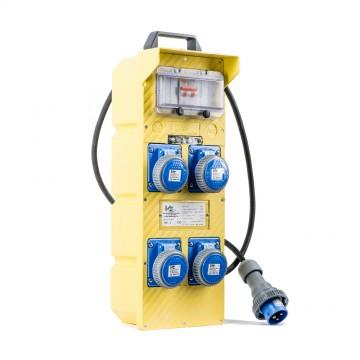 Quadro Elettrico Portatile 4 Prese 16A 230V 2P+T - VB-220/4T VB ELECTRIC