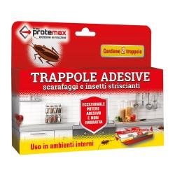 Trappola adesiva contro scarafaggi astuccio da 2 pz - Protemax - PROTE312