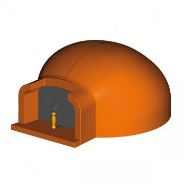 Forno tradizionale in refrattario alfa fer diametro 80 cm ftd0080 mollostore - Forno tradizionale e microonde insieme ...