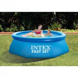 Piscina gonfiabile rotonda fuoriterra Easy Set cm 244x76 - INTEX 28110