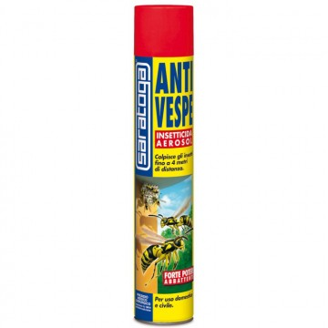 Insetticida spray Antivespe 750 ml - SARATOGA