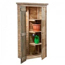 Ripostiglio armadio a pannelli in legno mm 900 x 500 x h 1830 - Pircher 599600