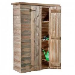 Ripostiglio armadio a pannelli in legno mm 1260 x 510 x h 1810/1850 - Pircher 599601