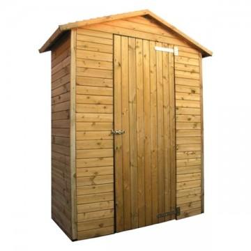 Casetta a pannelli in legno Giglio 1 mm 1500 x 730 x h 2150 - Pircher 617000