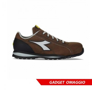 Scarpe antinfortunistiche DIADORA UTILITY - GLOVE II LOW Marrone Scuro S3-HRO-SRA - 170235 30008