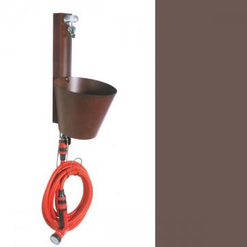 Fontanella in ferro H. 85 x L. 16 x P. 30 cm - BEL FER 42/ARRA (CENTRALINA NON COMPRESA) - DISPONIBILE IN 11 COLORI