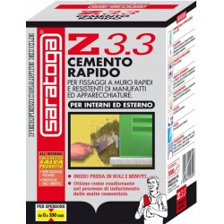 Cemento a Presa Rapida per Interni ed Esterno SARATOGA Z3.3 Conf. 1 kg