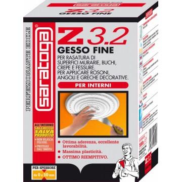 Gesso Fine per Interni SARATOGA Z3.2 Conf. 1 kg