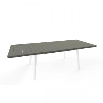 Keter tavolo Harmony allungabile Bianco/grigio