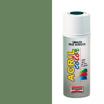 Smalto Acrilico Spray 400 ml AREXONS - VERDE RESEDA - RAL 6011 - 2947-3947