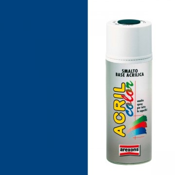 Smalto Acrilico Spray 400 ml AREXONS - AZZURRO - RAL 5010 - 2949-3949