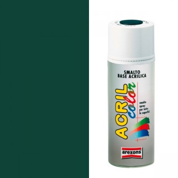 Smalto Acrilico Spray 400 ml AREXONS - VERDE MUSCHIO - RAL 6005 - 2946-3946