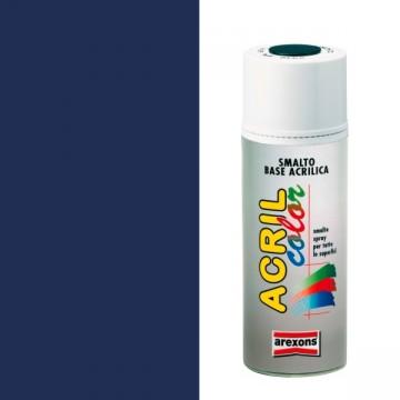 Smalto Acrilico Spray 400 ml AREXONS - BLU COBALTO - RAL 5013 - 2950-3950