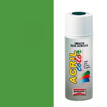 Smalto Acrilico Spray 400 ml AREXONS - VERDE GIALLO - RAL 6018 - 2981