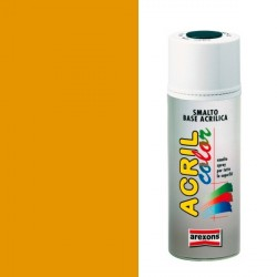 Smalto Acrilico Spray 400 ml AREXONS - GIALLO CROMO Ral 1007 - 2943-3943