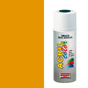 Smalto Acrilico Spray 400 ml AREXONS - GIALLO CROMO Ral 1007 - 2943