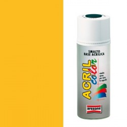 Smalto Acrilico Spray 400 ml AREXONS - GIALLO CADMIO - RAL 1021 - 2942-3942