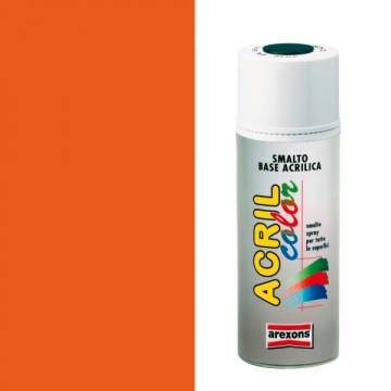 Smalto Acrilico Spray 400 ml AREXONS - ARANCIO PURO - RAL 2004 - 2941