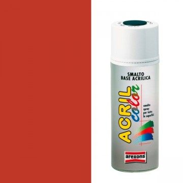 Smalto Acrilico Spray 400 ml AREXONS - ARANCIO SANGUIGNO - RAL 2002 - 2940-3940