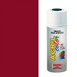 Smalto Acrilico Spray 400 ml AREXONS - ROSSO RUBINO - RAL 3003 - 2937