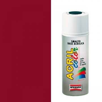Smalto Acrilico Spray 400 ml AREXONS - ROSSO RUBINO - RAL 3003 - 2937-3937