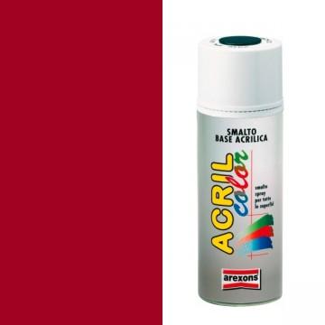 Smalto Acrilico Spray 400 ml AREXONS - ROSSO SEGNALE - RAL 3001 - 2936-3936