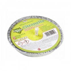 Fiaccola alla Citronella in Alluminio Diametro 14 cm Durata 6 ore - ZIG ZAG - 788