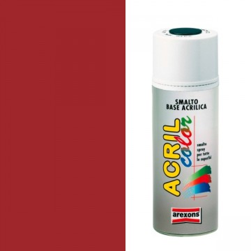 Smalto Acrilico Spray 400 ml AREXONS - ROSSO FUOCO - RAL 3000 - 2935