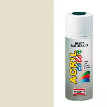 Smalto Acrilico Spray 400 ml AREXONS - BIANCO PERLA - RAL 1013 - 2932-3932