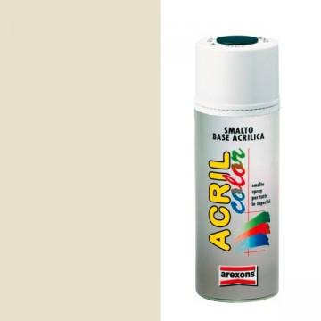 Smalto Acrilico Spray 400 ml AREXONS - BIANCO PERLA - RAL 1013 - 2932