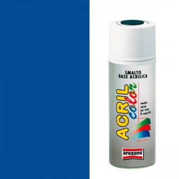 Smalto Acrilico Spray 400 ml AREXONS - BLU TRAFFICO - RAL 5017 - 2951-3951