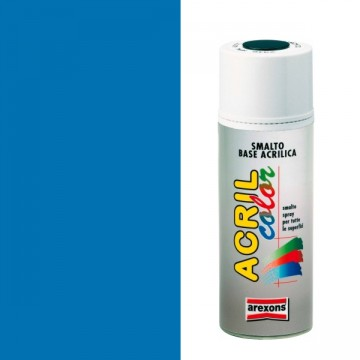 Smalto Acrilico Spray 400 ml AREXONS - BLU CIELO - RAL 5015 - 2952-3952