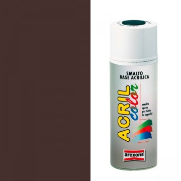 Smalto Acrilico Spray 400 ml AREXONS - MARRONE SCURO - RAL 8017 - 2953