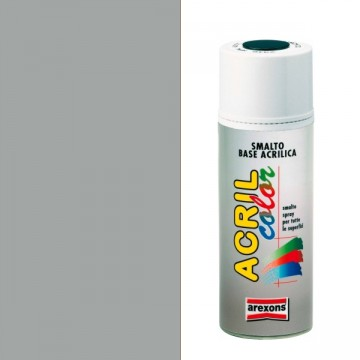 Smalto Acrilico Spray 400 ml AREXONS - ALLUMINIO BRILLANTE - RAL9006 - 2956