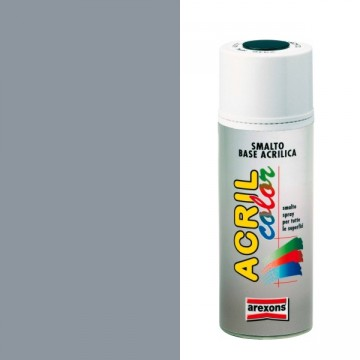 Smalto Acrilico Spray 400 ml AREXONS - GRIGIO ARGENTO - RAL 7001 - 2958-3958