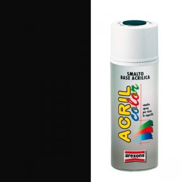 Smalto Acrilico Spray 400 ml AREXONS - NERO OPACO - 2961