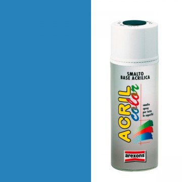 Smalto Acrilico Spray 400 ml AREXONS - AZZURRO CHIARO - RAL 5012 - 2948