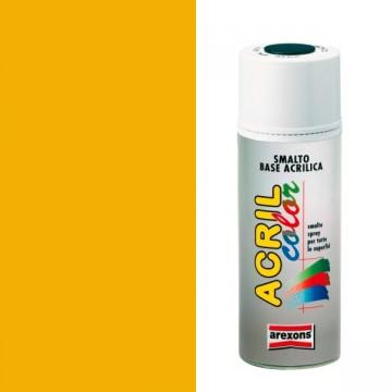 Smalto Acrilico Spray 400 ml AREXONS - GIALLO SEGNALE - RAL 1003 - 2976