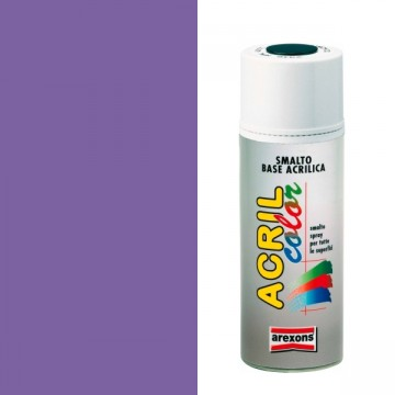 Smalto Acrilico Spray 400 ml AREXONS - LILLA BLU - RAL 4005 - 2979-3979