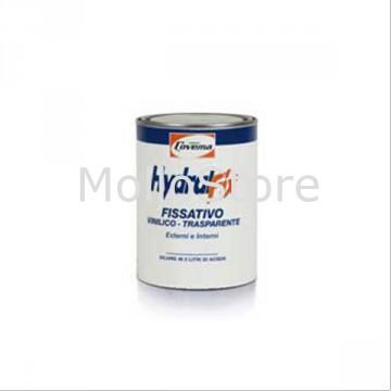 Fissativo Isolante Trasparente per Interni Particolarmente Porosi - COVEMA HYDRALFIX Vinilico - Conf. 1 litri