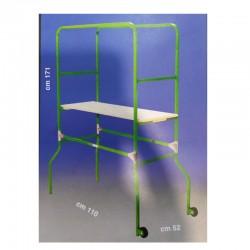 Trabattello Domestico in acciaio verniciato - Altezza m 1,71 - SVELT CIAO