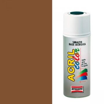 Smalto Acrilico Spray 400 ml AREXONS - MARRONE CHIARO - RAL 8003 - 2955-3955