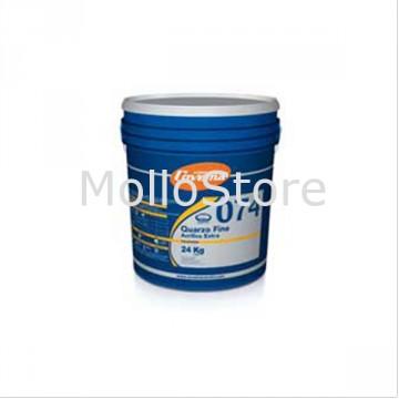 Pittura Murale Quarzo Fine Acrilico Bianco - COVEMA QUARZO Fine Acrilico Extra 074 - Conf. 8 kg