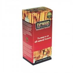 Accendifuoco Naturale a bastoncini per stufe e BBQ - FATWOOD - 896232
