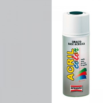 Smalto ritocco carrozzeria Spray 400ml AREXONS - ARGENTO METALLIZZATO - 2673