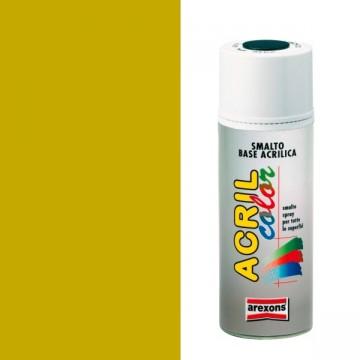 Smalto ritocco carrozzeria Spray 400ml AREXONS - ORO RICCO PALLIDO METALLIZZATO - 3670