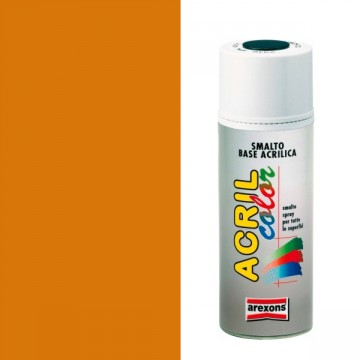 Smalto Sintetico Spray 400ml AREXONS - ARANCIO FLUORESCENTE - 2687