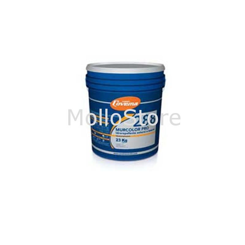 Idropittura Murale Traspirante Idrorepellente Per Esterni Ed Interni Bianca Covema Murcolor Pro 288 Conf 23 Kg