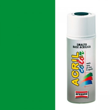 Smalto Sintetico Spray 400ml AREXONS - VERDE FLUORESCENTE - 2688